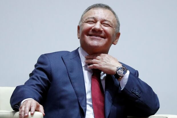 Russian oligarch Arkady Rotenberg
