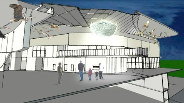 Public art proposed for the Seton recreation centre. The city is now posting public art projects online for Calgarians to see before they are installed.
