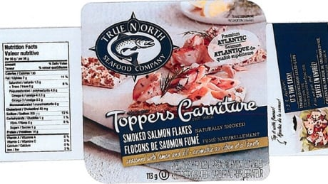 True North Seafood Company product recalled over Listeria concern