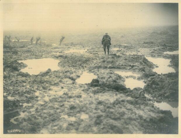 Canadian soldier at Passchendaele