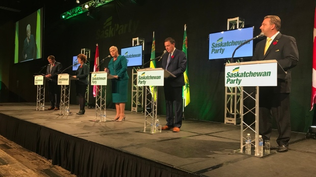 There have been no independent, third-party polls that weren't commissioned by one of the five candidates conducted on the Saskatchewan Party leadership race, according to political experts.
