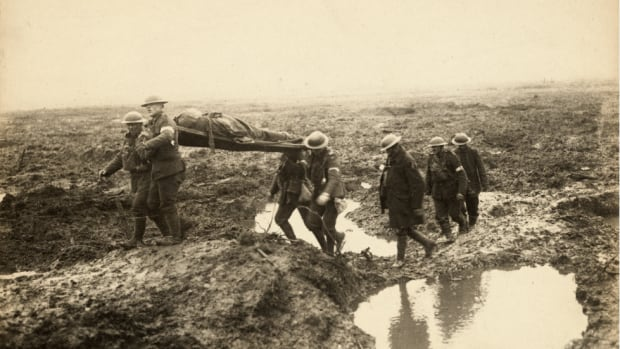 The Battle of Passchendaele, part of the Third Battle of Ypres, took place in muddy, wet fields in Belgium.
