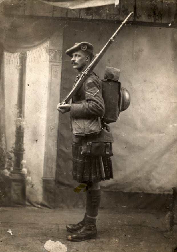 Lance Corporal James Rae, Seaforth Highlanders