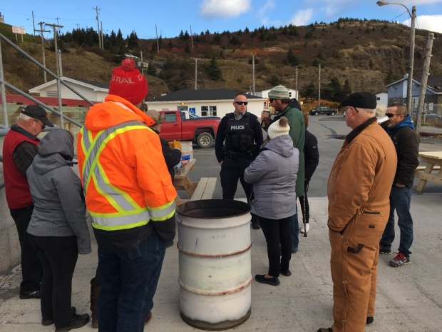 Bell Island Protest
