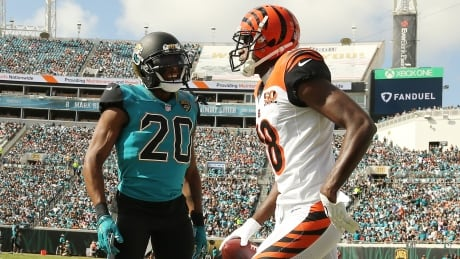 Bengals' Green, Jaguars' Ramsey ejected for fighting
