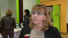 Leah Deans from Sask. Adoption Support Centre