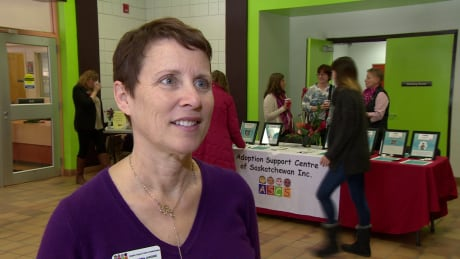 Adoptive parent and adoptee Shawna Jardine