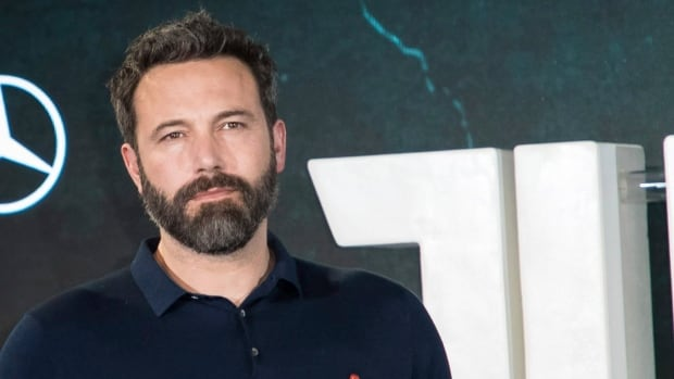 Actor Ben Affleck poses for photographers at a photo call to promote the film 'Justice League', in London, Saturday, Nov. 4, 2017.