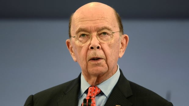 U.S. Commerce Secretary Wilbur Ross is seen at the Conferederation of British Industry's annual conference in London on Monday, where he also took time in a broadcast interview to address details that have emerged in the Paradise Papers regarding investment holdings with Russian links.