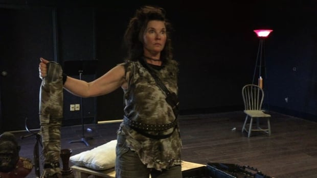 Maureen Cassidy lost her arm from flesh-eating disease in 2015. She has written and stars in a play about the experience.