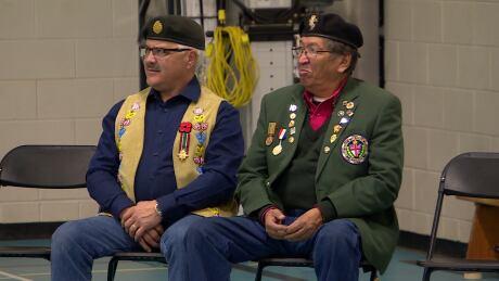 Veterans Remembrance  Day Vincent Massey School