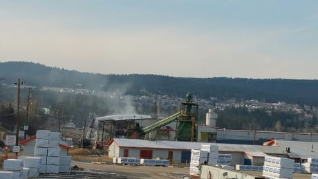 Fire at Lakeview Mill