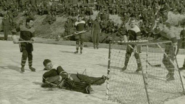 North Bay's Dennis Moore says a memorable moment was taking a break from the Korean War to take part in a hockey game.