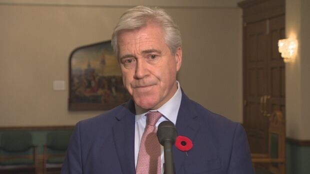 Premier Dwight Ball says his daughter has moved on with her life following her involvement with Brandon Phillips, and is now a new mother.
