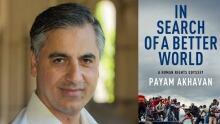 Payam Akhavan and Book Cover