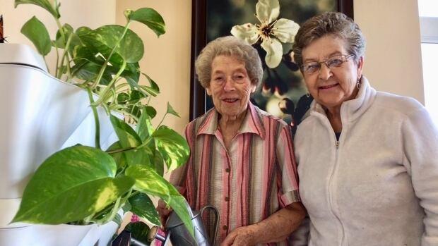 Joyce MacSweyn and Inez Gallant