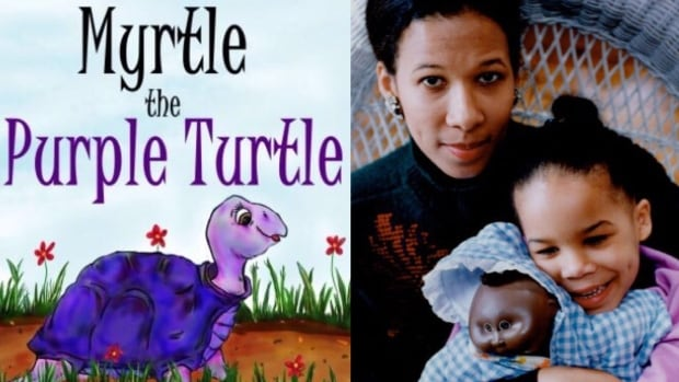 Cynthia Reyes came up with the story of Myrtle the Purple Turtle almost 30 years ago and now it's a children's book.