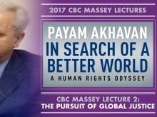 Payam Akhavan's fourth Massey Lecture focuses on how the world can move forward after the collapse of the Soviet Union, the implosion of Afghanistan and the deadly 9/11 terrorist attacks.