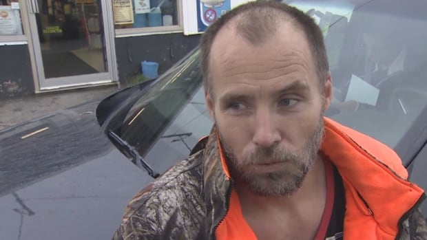 Brian Guthro is one of 49 people laid off at the Donkin mine on Tuesday.