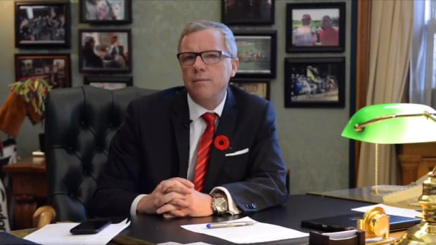 Saskatchewan Premier Brad Wall to Julie Payette: 'I am concerned recent comments you have made did not meet the standard of conduct that comes with your position.'