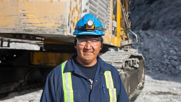 After six years and more than 10,000 hours of training, Gabriel Ulayok reached the top of his field and is now qualified to operate one of the largest excavator machines in the global mining world.