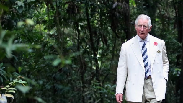 Prince Charles visits the MacRitchie Reservoir Park on Oct. 31 in Singapore.