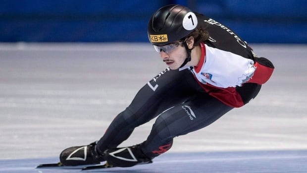 Sam Girard has won four of Canada's five men's short track World Cup medals so far this season, establishing himself as a contender for the 2018 Olympics.