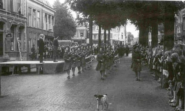 Harlingen, NED, 1945