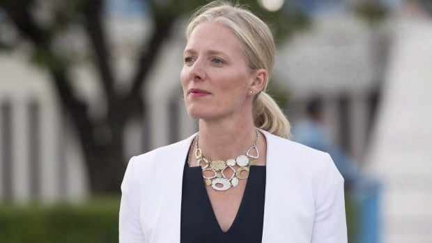 Environment and Climate Change Minister Catherine McKenna apologized for a tweet praising Syria, saying, 'Clearly a mistake was made.'