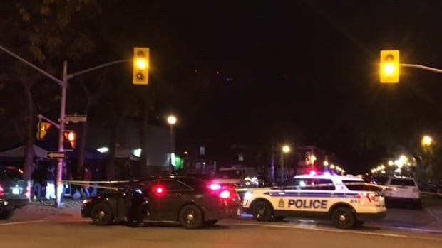 Ottawa police have arrested a 27-year-old man after another man was stabbed during a fight Tuesday night.