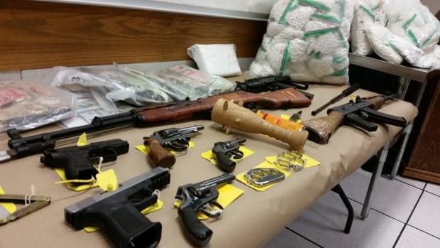 OPP weapons guns automic rifle seizure firearms