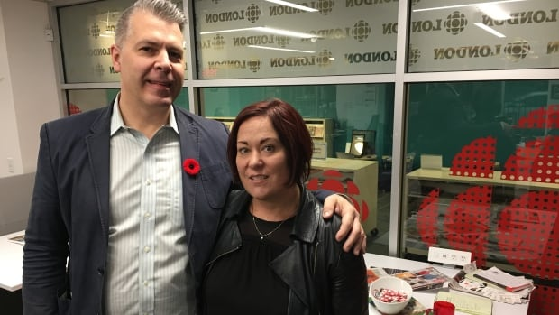 Kirk and Anna Foat shared their story with London Morning