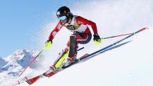 women alpine slalom