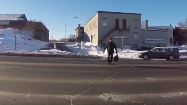 A documentary called 32 Short Films about Walking in Sudbury is being screened this weekend.