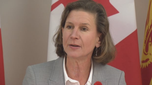New Brunswick NDP Leader Jennifer McKenzie says $15 would be the start of a fair wage.