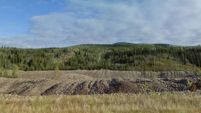 Dawson City, where the roads could be made with gold mine tailings