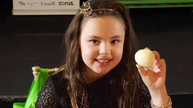 Jazmine Akeeagok's bannock recipe was selected as a winner from among 300 submissions from across Canada for the 2017 Kid Food Nation Recipe Contest.