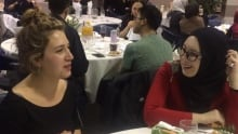 Interfaith dinner at uVic