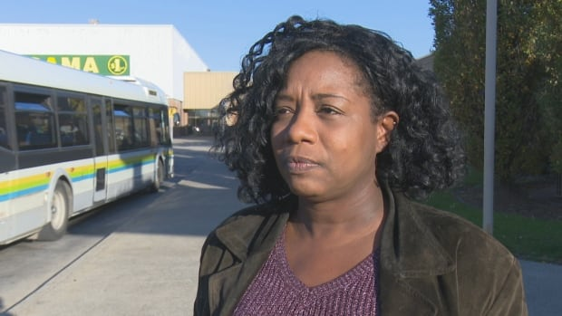 Melissa Benjamin was riding the 1C bus in Windsor when it suddenly swerved into the other lane around 9:30 a.m. on Nov. 1.