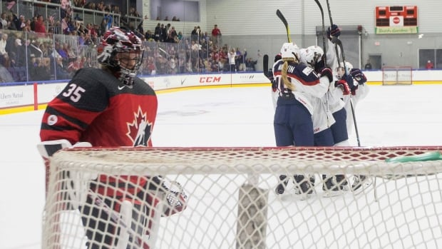 The United States defeated Canada 4-2 on Wednesday night at the Four Nations Cup.