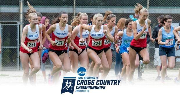 SFU women's cross country running