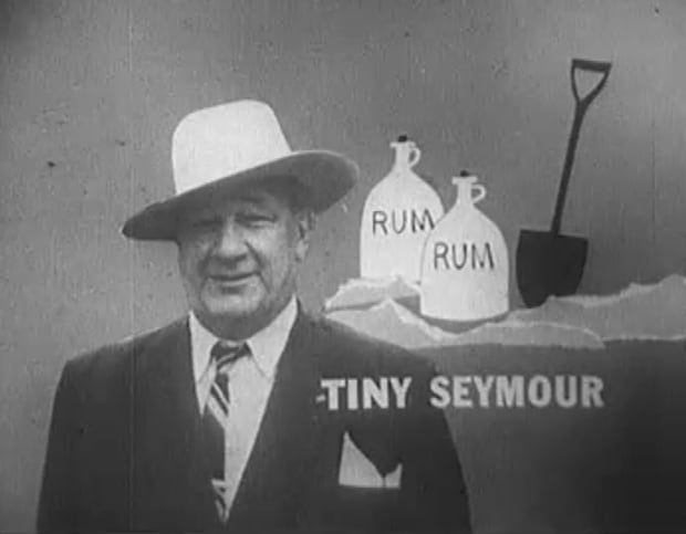 Image of Dudley 'Tiny' Seymour on Front Page Challenge
