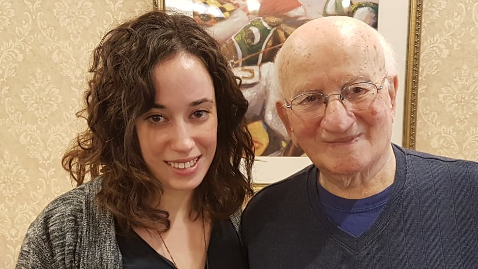 Casey Shapira helped her grandfather Isaac Gotfried complete his book Lucky to Survive.