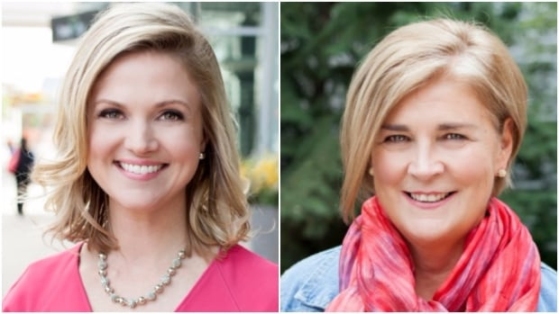 CBC's Jill Morgan (L) and Sheila Coles (R) both took home the top spot in their categories.