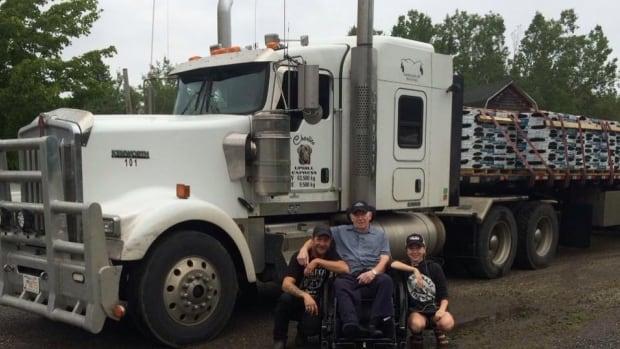 Robert Price, left, has been driving trucks since he was 13.