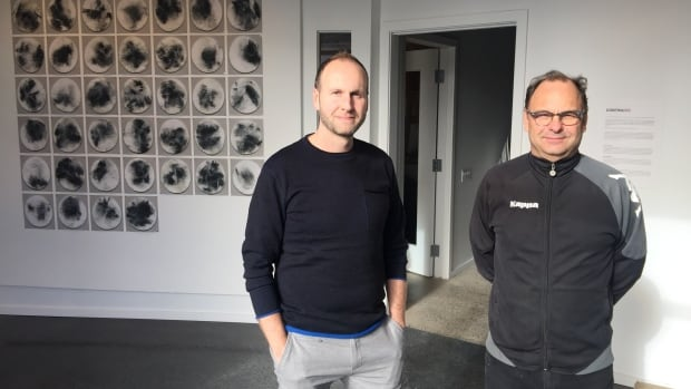 Jonathan Hobin, left, is SPAO's creative director while Michael Tardioli, right, is the school's founder of education. The school is unveiling its new Little Italy location this Friday.