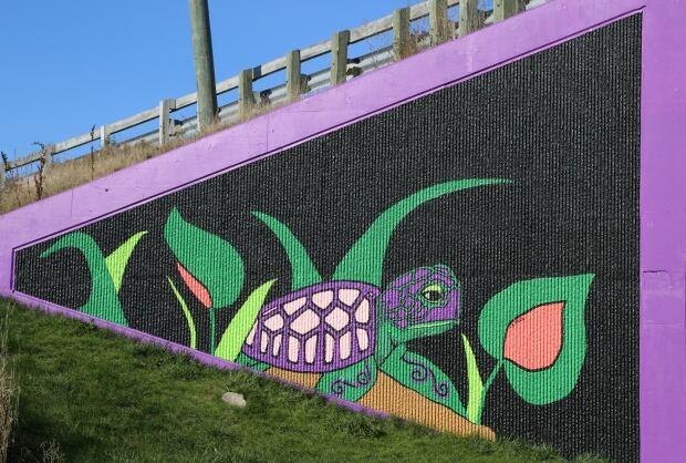 Turtle overpass