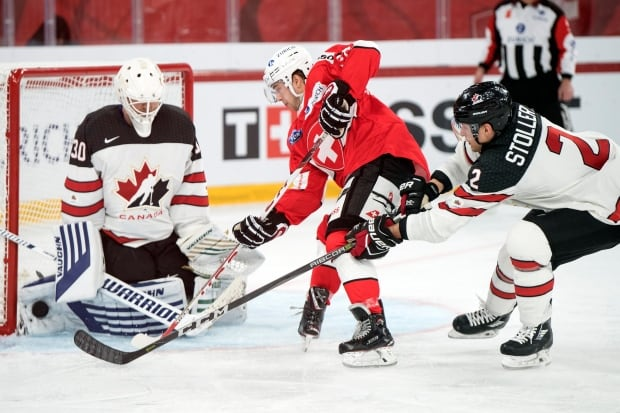 Switzerland Canada Icehockey