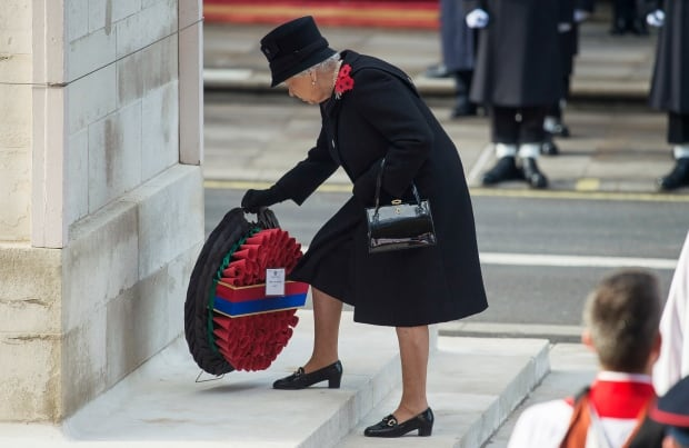 (FILE) BRITAIN ROYALTY REMEMBRANCE SUNDAY