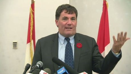 Federal Fisheries Minister Dominic LeBlanc, whales meeting, Moncton, Nov. 9, 2017